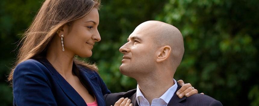 Fotografia kobiety i mężczyzny - fotograf: Piotr Zarzecki